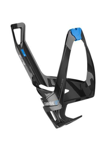 košík Elite Cannibal XC černý lesklý/modrý