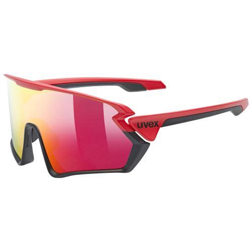 brýle UVEX Sportstyle 231 Red/Black Matt