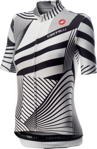 dámský dres Castelli Sublime White Black