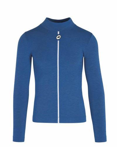 spodní triko ASSOS Ultraz Winter LS Skin Layer Calypso Blue