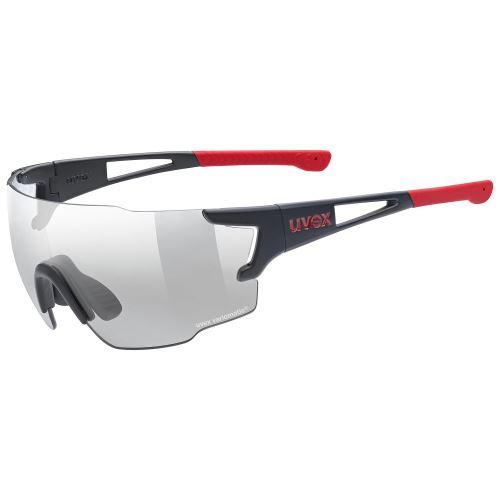 brýle UVEX Sportstyle 804 VM Black Mat/Red