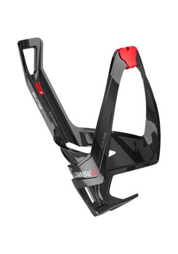 košík Elite Cannibal XC černý lesklý/červený