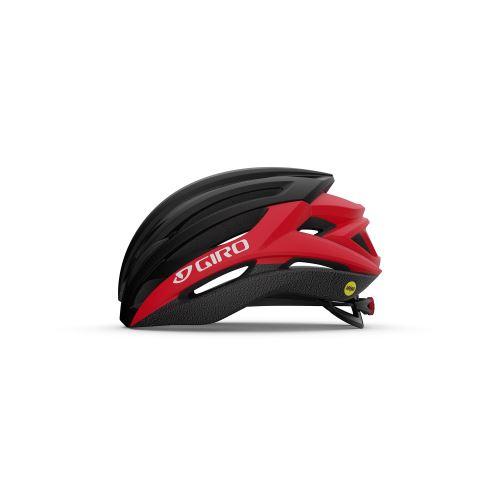 helma Giro Syntax MIPS Mat Black/Bright Red 2021