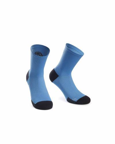ponožky ASSOS XC Socks Corfu Blue