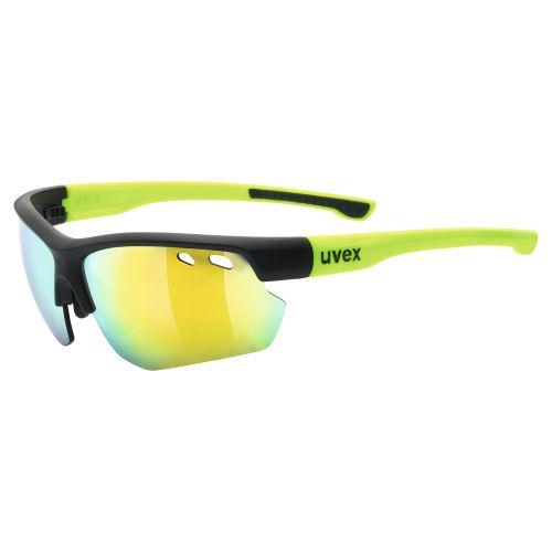 brýle UVEX Sportstyle 115 Black Mat Yellow