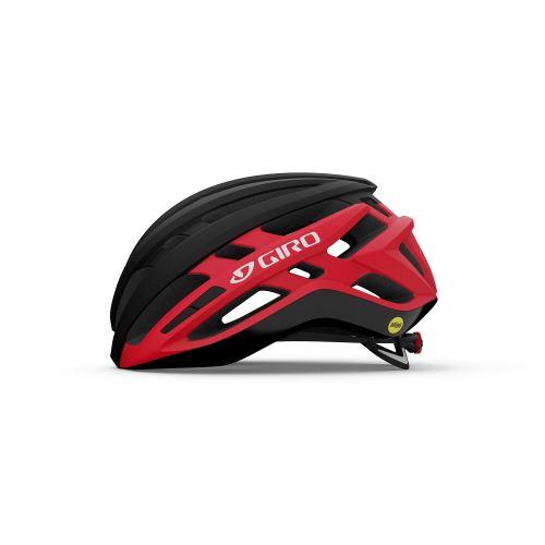 helma Giro Agilis MIPS Mat Black/Bright Red 2021