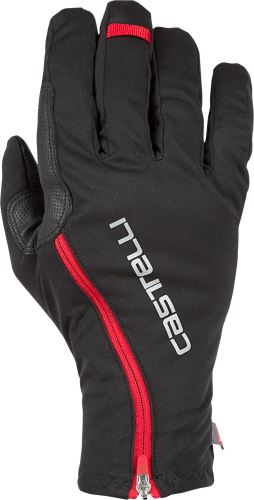 zimní rukavice Castelli Spettacolo RoS Glove Black Red