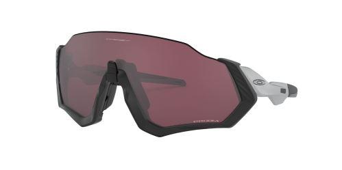 brýle Oakley Flight Jacket Black-Silver Matt/Prizm Road Black