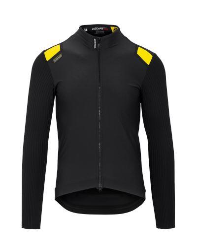 bunda ASSOS Equipe RS Spring Fall Jacket Black Series