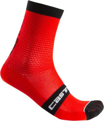 ponožky Castelli Superleggera 12 Red