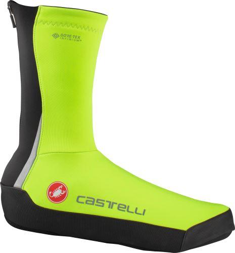 návleky na tretry Castelli Intenso UL Shoecover Yellow fluo