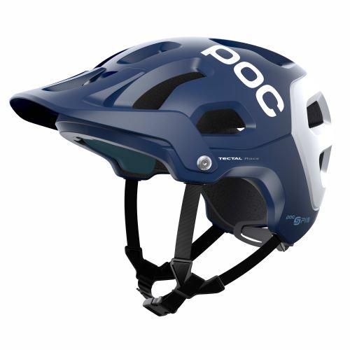 helma POC Tectal Race SPIN Lead Blue/Hydrogen White Matt 2021