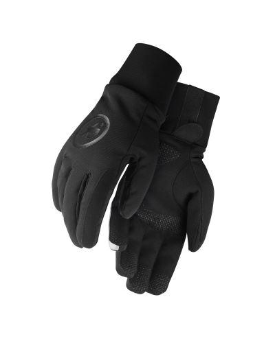 zimní rukavice ASSOS Ultraz Winter Gloves Black Series