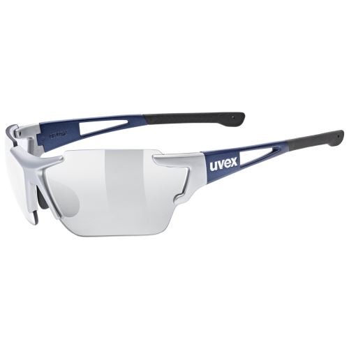 brýle UVEX Sportstyle 803 Race VM Silver/Blue Metalic