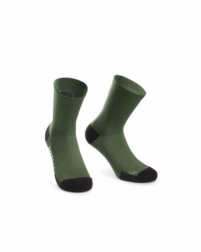 ponožky ASSOS XC Socks Mugo Green