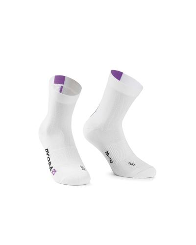 ponožky ASSOS DYORA RS Socks Venus Violet