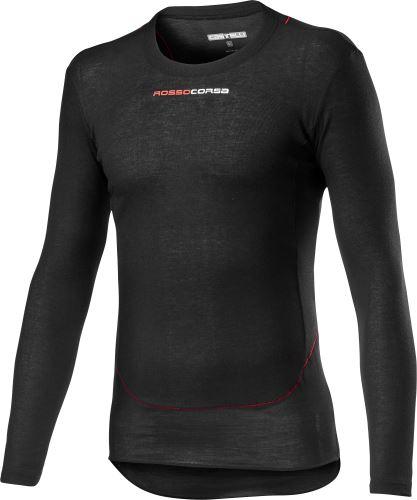 spodní triko s dlouhým rukávem Castelli Prosecco Tech Black