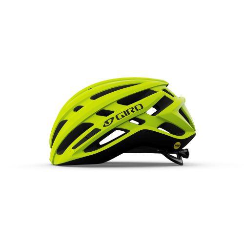 helma Giro Agilis MIPS Mat Highlight Yellow 2021