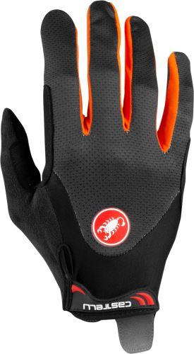 rukavice Castelli Arenberg Gel Lf Dark Gray/Orange