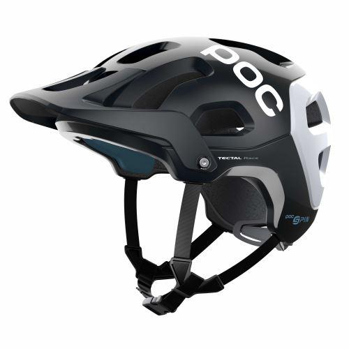 helma POC Tectal Race SPIN Uranium Black/Hydrogen White 2021