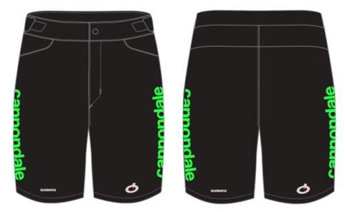 kraťasy Cannondale CFR Replica MTB Shorts 2021