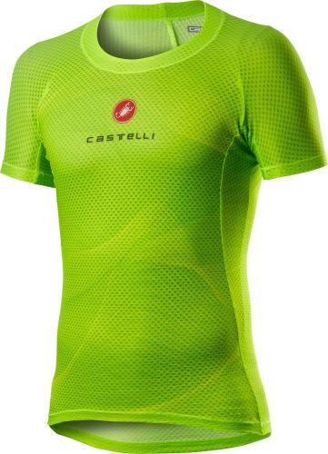 spodní triko Castelli Pro Mesh Ss Yellow Fluo