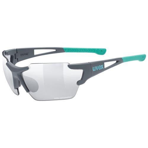 brýle UVEX Sportstyle 803 Small Race VM Grey Mat/Mint