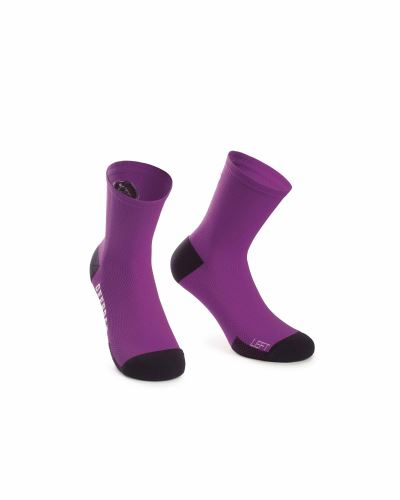 ponožky ASSOS XC Socks Cactus Purple
