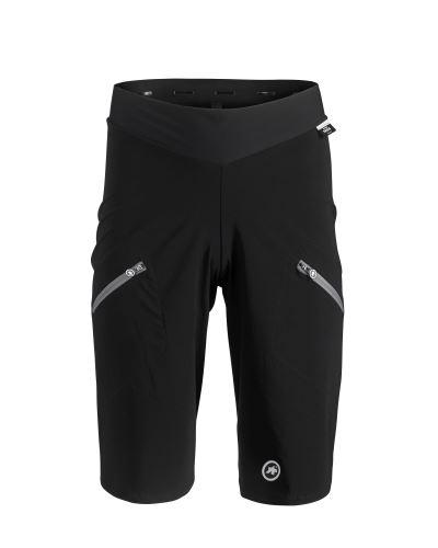 kraťasy ASSOS TRAIL Cargo Shorts Black Series