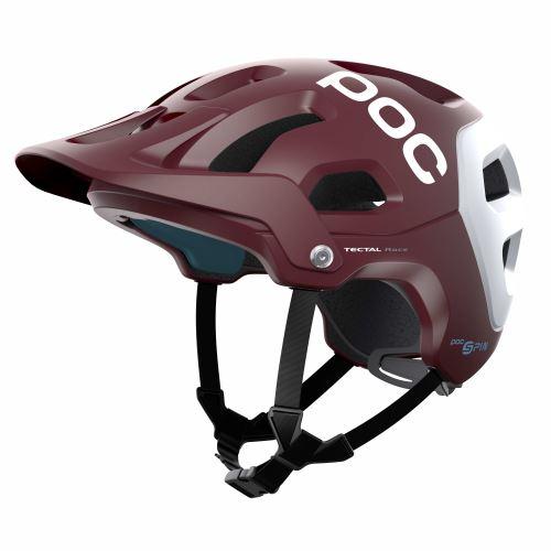 helma POC Tectal Race SPIN Propylene Red/Hydrogen White Matt 2021