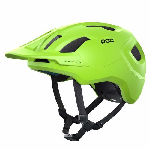 helma POC Axion SPIN Fluorescent Yellow/Green Matt 2021
